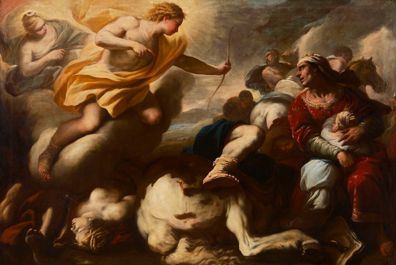 Giordano - Massacre of the Children of Niobe - AGH - 1780s